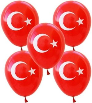 Turkish Flag Balloon With Turkish Flag Turk Bayrakli Balon Toronto Canada Kanada United States Ottawa Montreal Quebec Laval Vancouver Edmonton New York California Mississauga Kitchener Hamilton Halifax New York California Niagara Falls Richmond Brampton Niagara