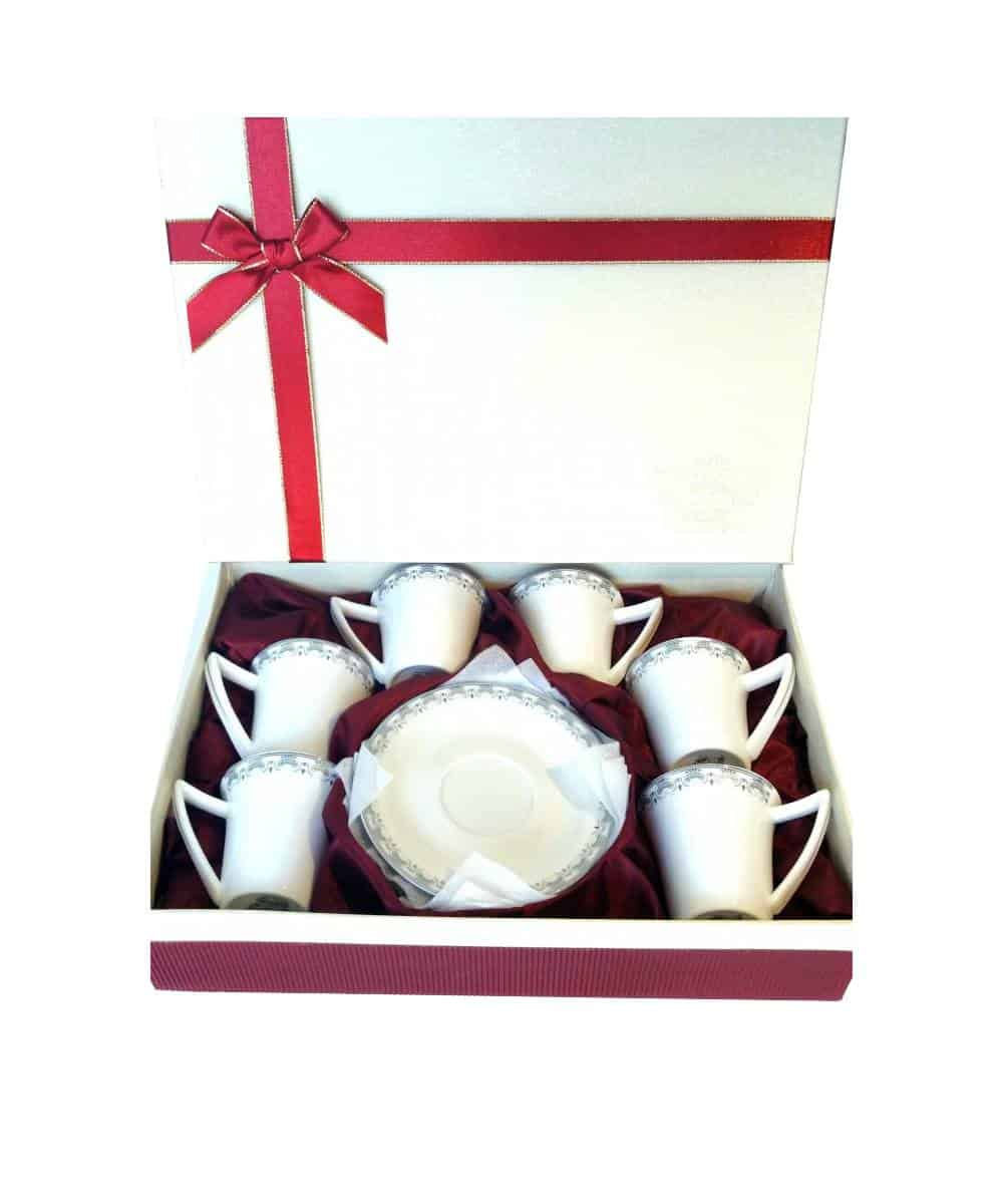 Fine Bone China Turkish Coffee Set