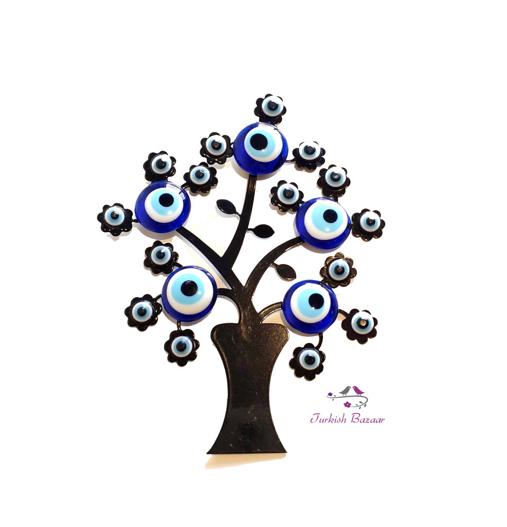 Turkish Evil Eye Tree Magnet Magnet Agac Nazar Boncugu