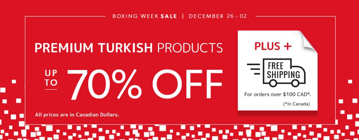 Turkish Boxing Day Sale