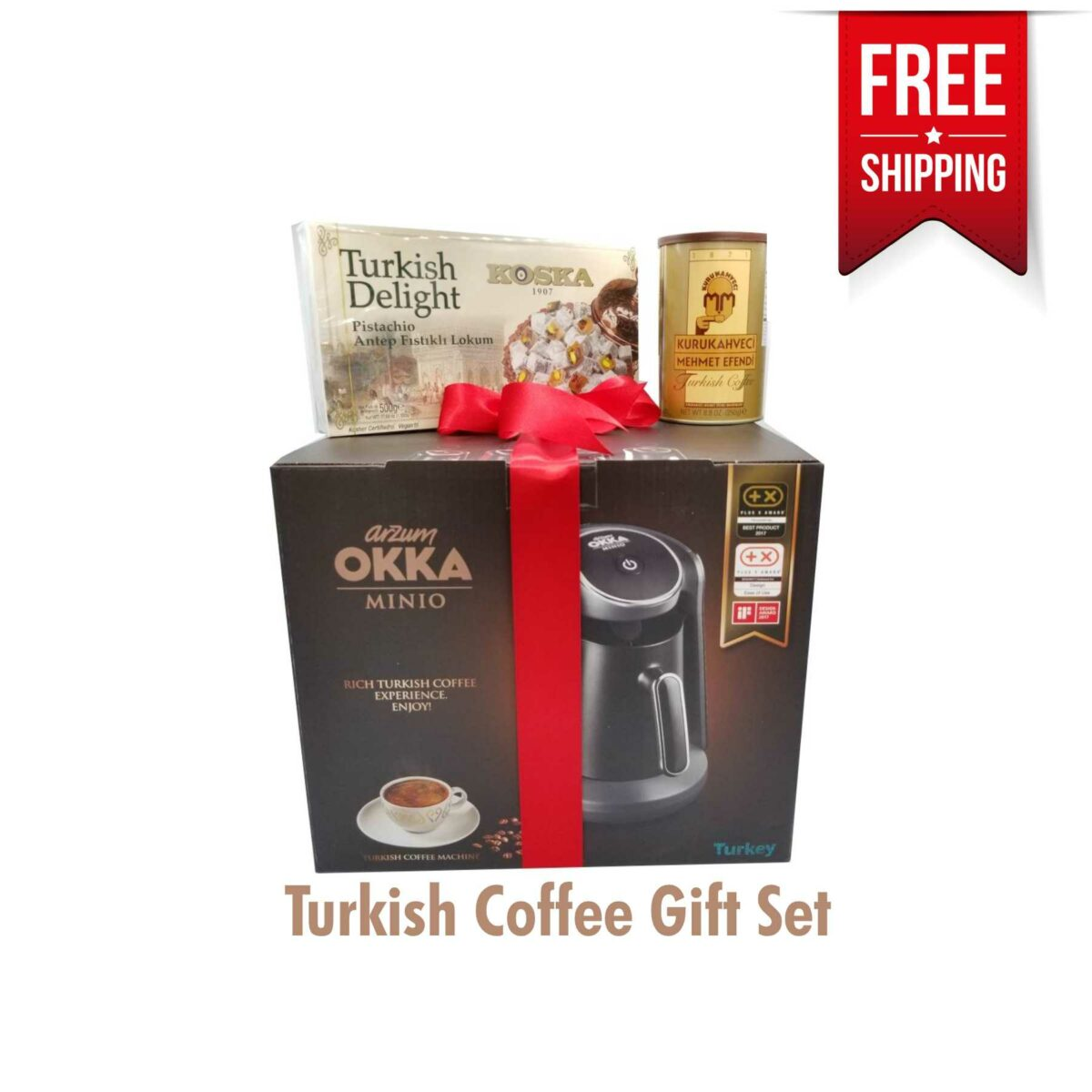 Arzum Turkish Coffee Maker Gift Set