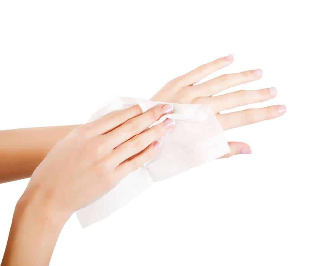 Alcohol Wipes Hand