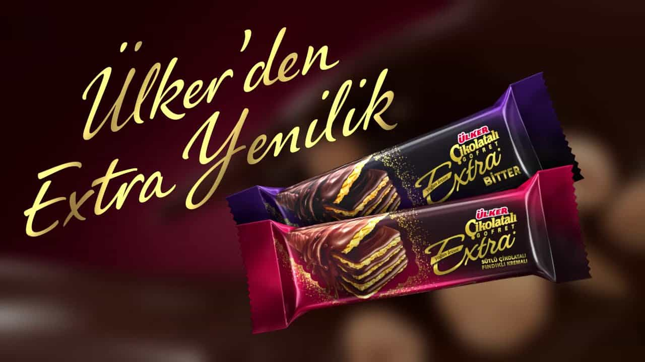 Ulker Chocolate Wafer Extra Chocolate